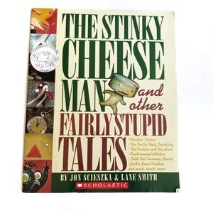 3/$20 The Stinky Cheese Man And Other Takes Book